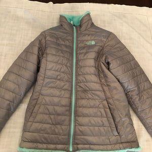 Reversible North Face Winter Coat